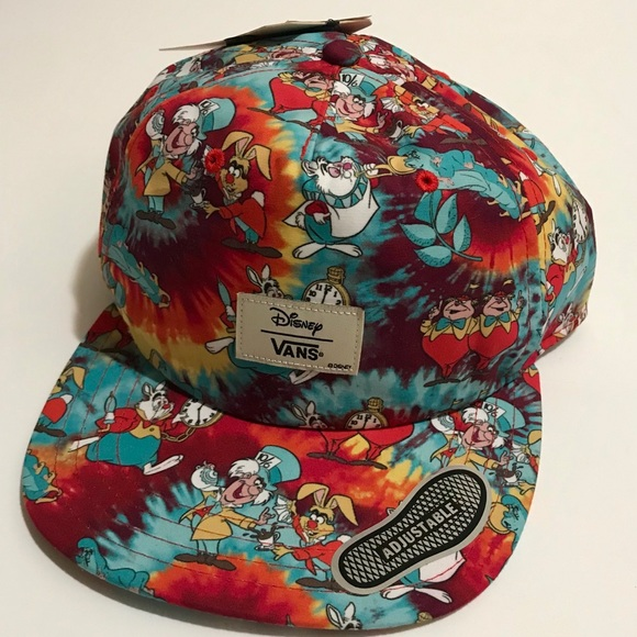 0256f3ee3db Vans Disney Alice in Wonderland SnapBack hat